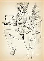 Little Annie Fanny sketches to jerk off to all night long!