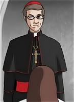 Perverted priest fucks the throat of a petite blonde nun