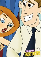 Sexy Kim Possible peeping for her mom and her dad sex