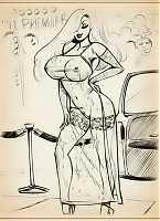 Sexy sketch gallery with lovely Jessica Rabbit