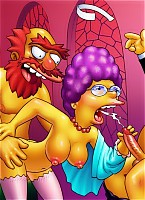 Nasty secondary characters of Simpsons toon series