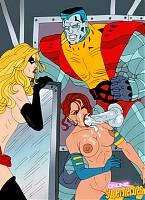 X-men sexiest heroes in xxx scenes gallery