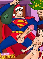 Superman fucking cute babes in the cold