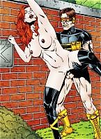 Cyclops sucks Jean Grey.s pussy