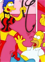 simpsons pictures at modern toons